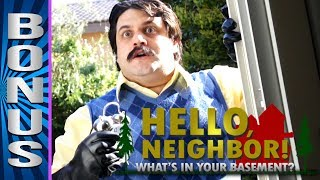 "HELLO NEIGHBOR: Behind the Scenes of ""What's In Your Basement"""