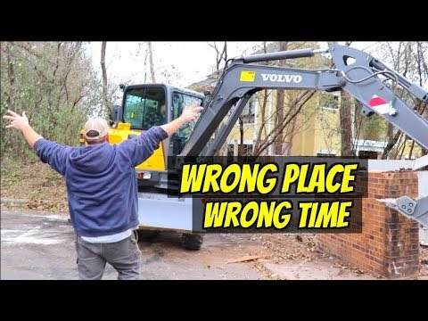 The Time My Truck Driver Tried To Run An Excavator.....at The Wrong Time