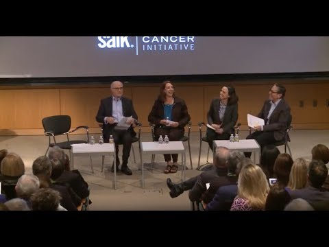 Salk Institute Conquering Cancer Initiative Launch Event Panel Discussion