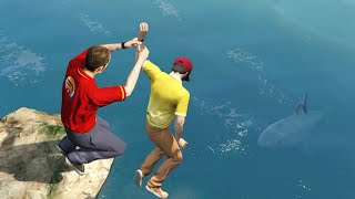 GTA 5 Water Ragdolls/Jumps episode 9 (Funny Moments)