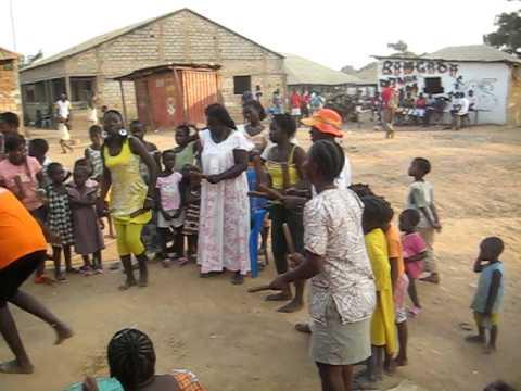 Tabanca em Guiné-Bissau