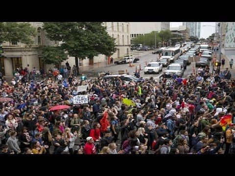 Anti-Trump Protest | Day 4 | Los Angeles | LIVE