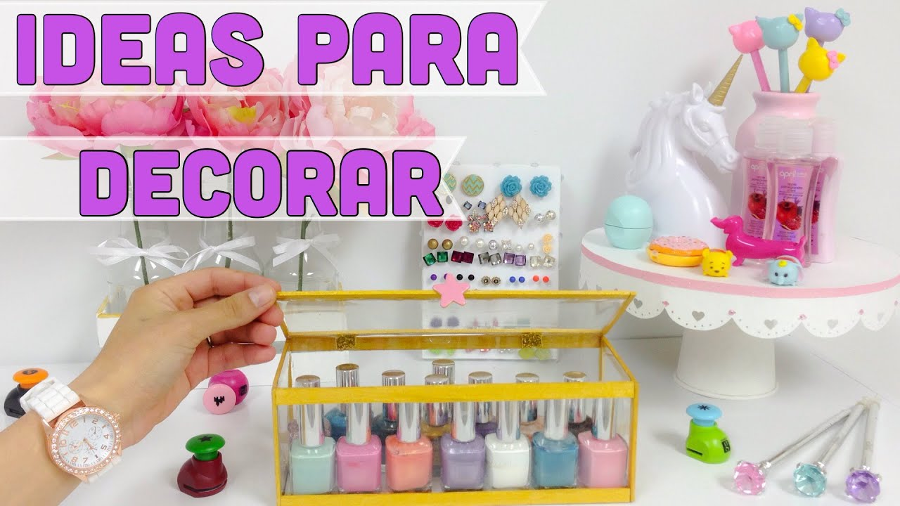 Manualidades con reciclaje para decorar y organizar tu for Ideas faciles para decorar una habitacion