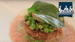 2-Michelin starred chef Claude Bosi creates lamb sweetbreads and pork neck recipes
