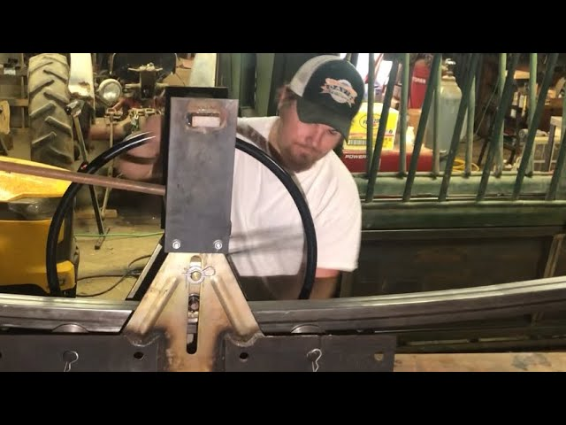 Squeeze Chute Restoration, Part 4!  Using the Harbor Freight Tubing Roller