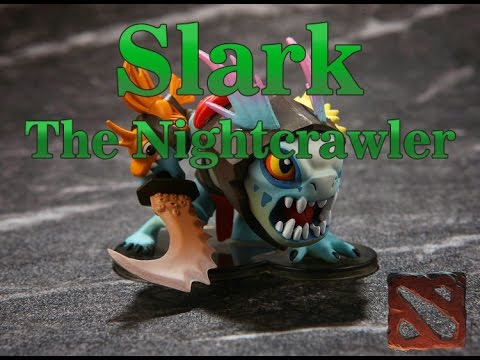 Обзор фигурки героя Slark из Dota 2