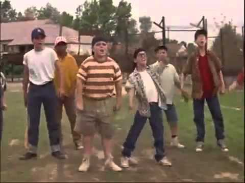 The Sandlot Clip you play ball like a girl