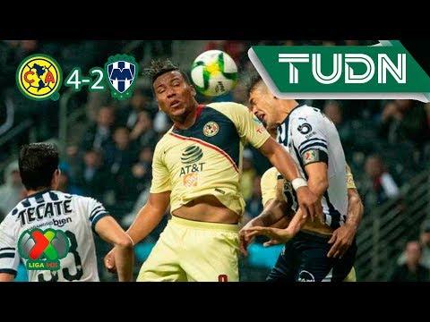 Resumen América 4 - 2 Monterrey | Liga MX - Ap19 | TUDN México
