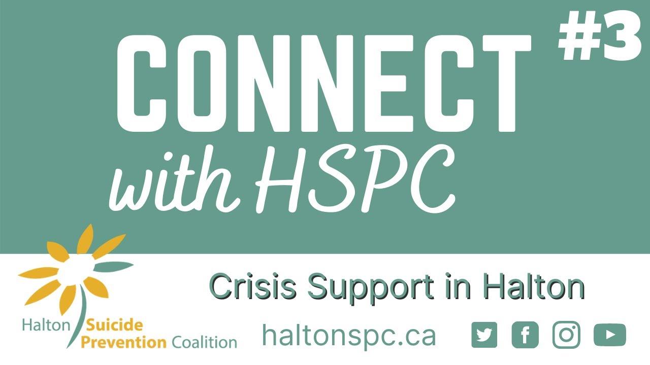Webcast - Halton Crisis Lines