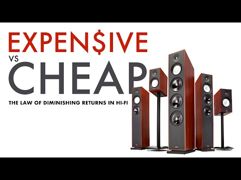 HIGH END AUDIO Vs BUDGET GEAR - The Law Of Diminishing Returns In Hi-Fi