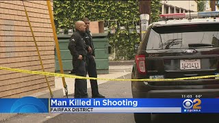 Man Killed In Fairfax Shooting
