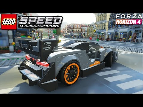 Forza Horizon 4 LEGO – McLaren Senna | Freeroam Gameplay