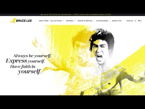 New Official Bruce Lee Store Is Live! Shannon Lee