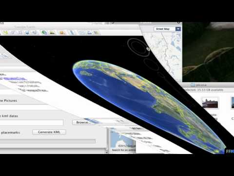 Convert Geotagged Pics to .KMZ file Free on Mac