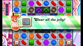 Candy Crush Saga Level 486 walkthrough (no boosters)