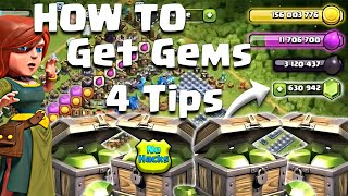 How To Get Gems??? - Secrets Revealed - NO HACKS - Clash of Clans