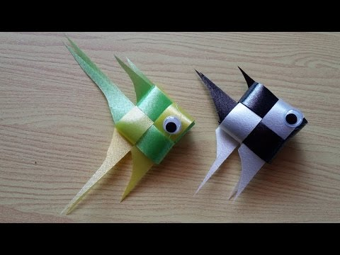 DIY Ribbon Fish