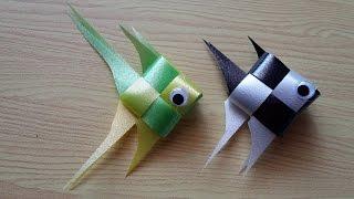 DIY Ribbon Fish.
