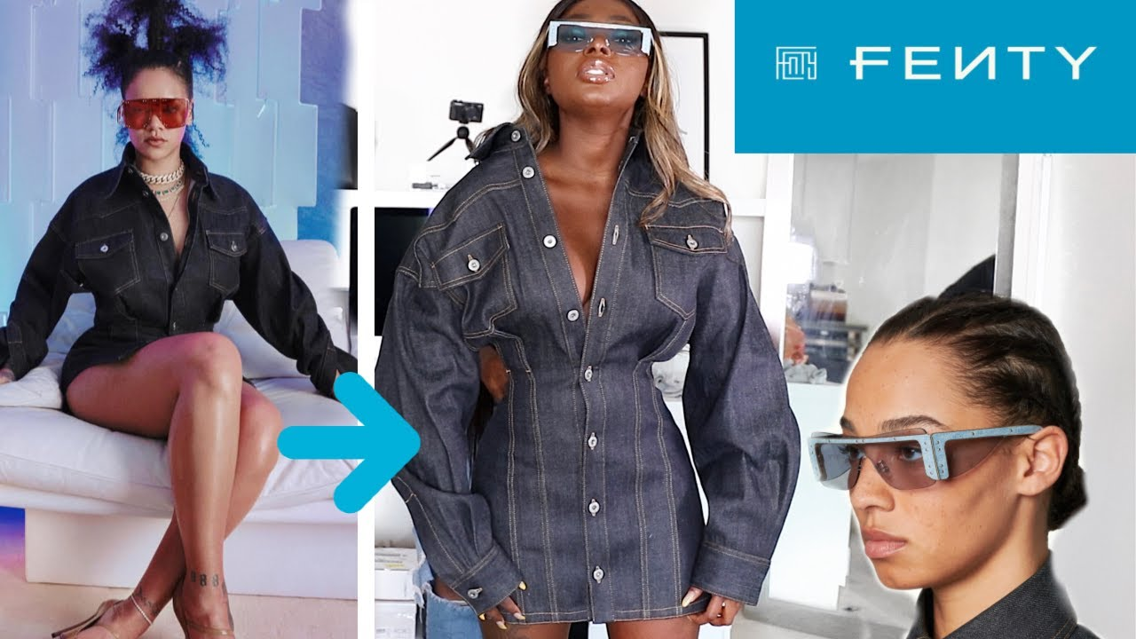 13f8ca4f5a I SPENT $2700 ON RIHANNA LUXURY FASHION LINE AND THIS IS WHAT IT ...