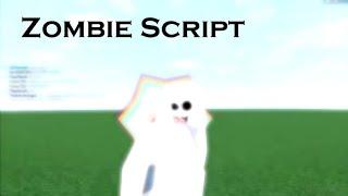ROBLOX Leere Skript Builder (Platz 1) Zombie-Skript