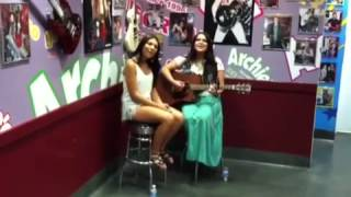 "Chasing Paris perform ""Go"" at Archie's Ice Cream in Tustin,Ca - 9/5/13 Thumbnail"