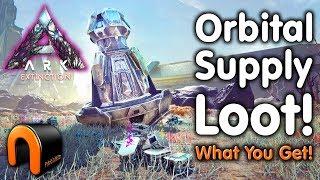ARK Extinction ORBITAL SUPPLY DROP LOOT & What You Get!
