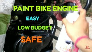 CBZ XTREME ENGINE How to Paint with Aerosol Spray Cans.