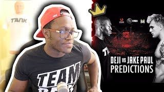 WILL JAKE PAUL BEAT DEJI?