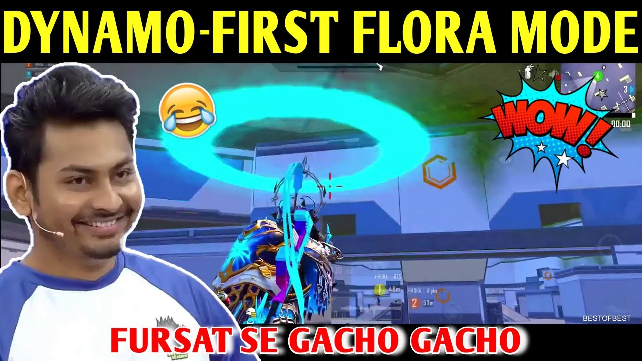DYNAMO FIRST MATCH IN FLORA MENACE MODE   BATTLEGROUNDS MOBILE INDIA   BEST OF BEST
