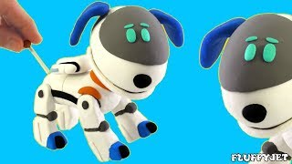 Paw Patrol Cartoons for Children from Fluffy Jet Toys - Play Doh Stop Motion Videos for Kids