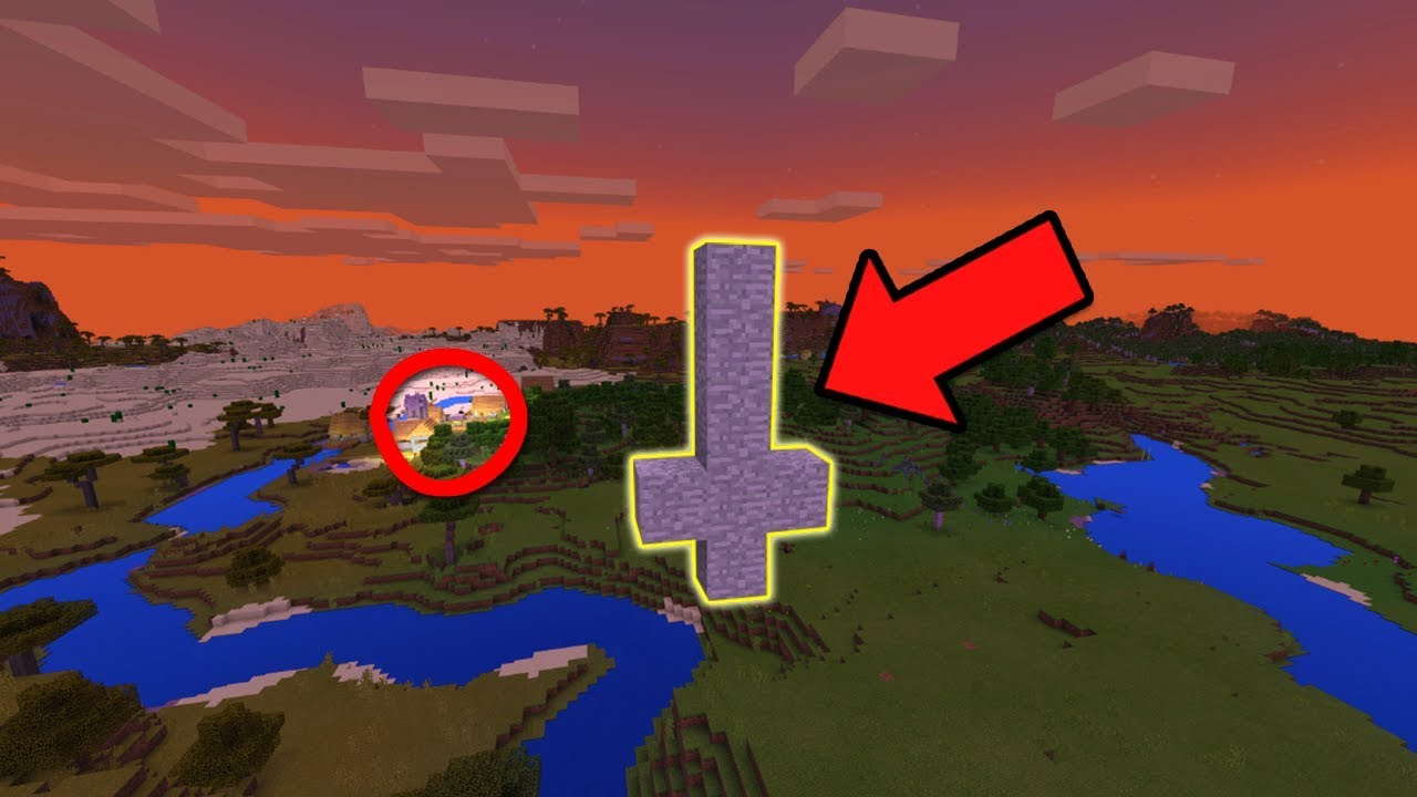 Scariest Seed In Minecraft Pocket Edition Do Not Play This Seed In Minecraft Pocket Edition Youtube