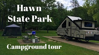 Hawn State Park Campġround Tour - Park Travel Review