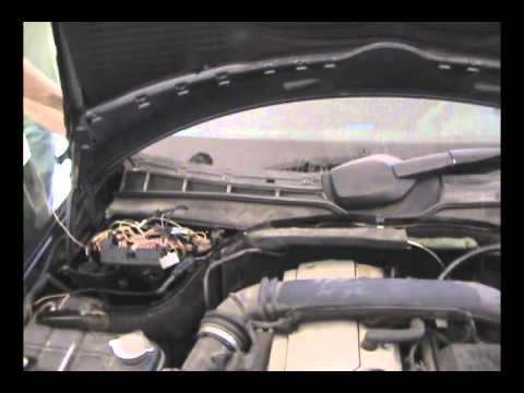 W202 m111 engine .wmv