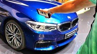 Обзор стенда BMW в Женеве с Павлом Блюденовым   новая BMW 5 series G30, M760i, обновленные M3 & M4!)