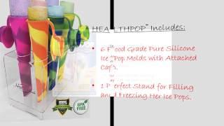 Healthpop™   Popsicle Maker Set By Hands Brands Llc