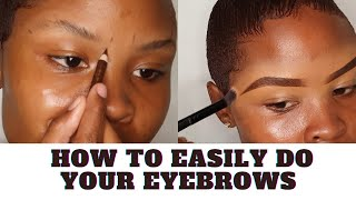 HOW TO EASILY DΟ YOUR EYEBROWS