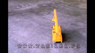 Машинка на радиоуправлении   Автокран MAN(, 2015-03-25T18:27:50.000Z)