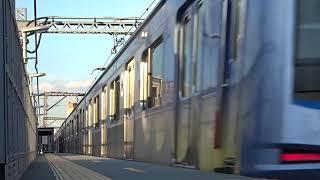 横浜高速鉄道みなとみらい線Y500系Y513F急行石神井公園行き都立大学駅通過