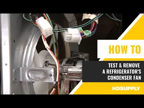 Ge Refrigerator Condenser Fan Testing Amp Removal Hd