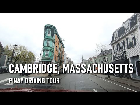 The Streets of Cambridge, MA under Quarantine | TIMESTAMPS #6 | Pinay Driving Tour USA