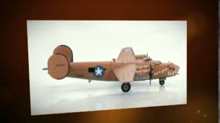 "Consolidated B24-D Liberator ""Lady Be Good"" (1943) Hobbymaster HA9101 - 1:144"