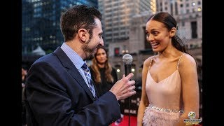Red-Carpet Interview: Laura Haddock for Transformers: The Last Knight