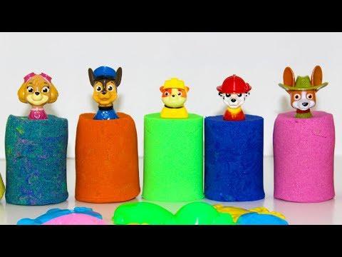 Щенячий патруль Игрушки Учим цвета Мультики для детей с Сюрпризами Мультфильмы Сюрпризы для детей