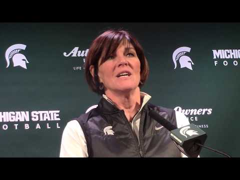 MSU Volleyball Coach Cathy George Pre-NCAA Tournament