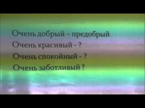 Русский язык. Выпуск 18. Правописание приставок.