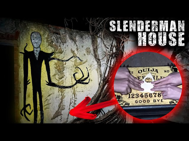 Ouija Board + Crazy Light in Sky Caught on Camera At Haunted Slenderman House