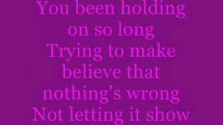 you can let go by the backstreet boys