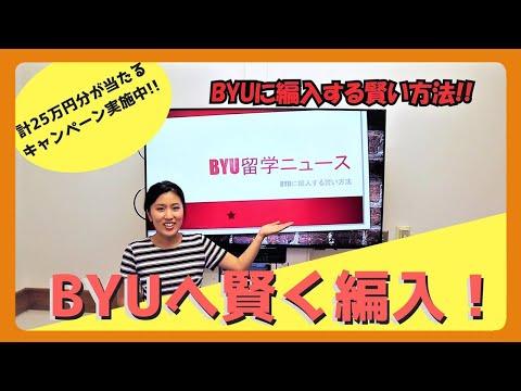 コミカレからBYUへ!ニュース形式で編入方法を紹介!