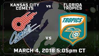 Kansas City Comets vs Florida Tropics