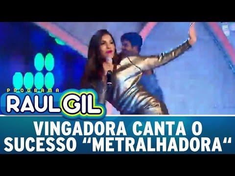 Programa Raul Gil (16/04/16) - Vingadora Canta O Sucesso